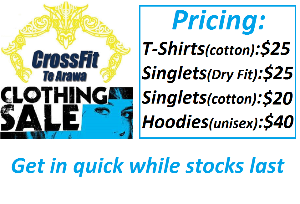 Clothing Sale + Prices