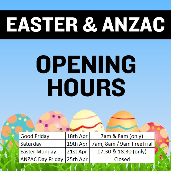 Easter ANZAC Hours