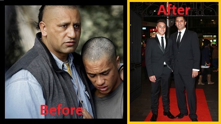 Cliff Curtis (Before)